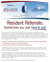 Resident Referrals - Feb 2015 Enews