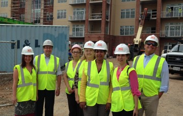 Vinson Hall's final hard hat tour of their new expansion!