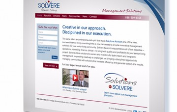 We are excited to announce the debut of Solvere Senior Living!
