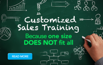 Customized Sales Training- Because One Size Does Not Fit All