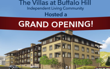 Grand Opening – The Villas at Buffalo Hill Independent Living Community