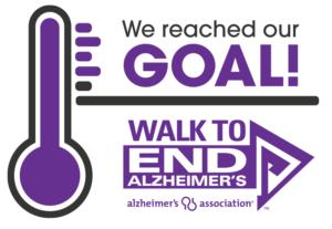 Alzheimer's research fundraising team