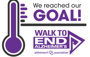 Solutions Advisors Group Reaches Fund-raising Goal for Walk to End Alzheimer's