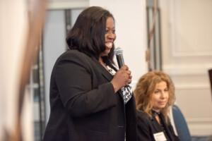 Lorie Dancy public speaking.