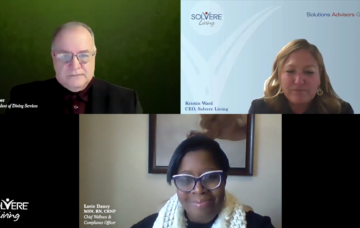 Solvere Living's CEO, Kristin Ward, Chief Wellness & Compliance Officer, Lori Dancy and VP of Dining Services, Joe Geiser as they provide tips on how to keep your heart healthy.